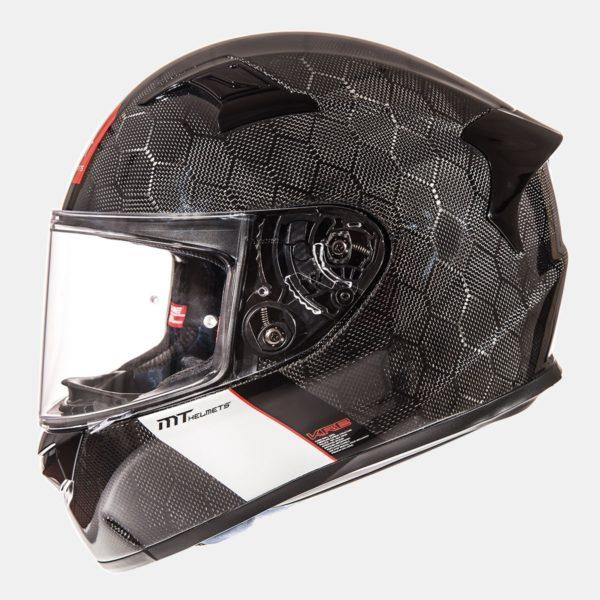 MT Helmets KRE Gloss Snake Carbon