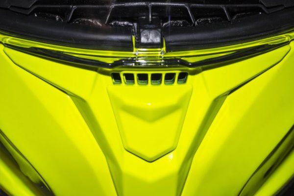 Solid A3 Brillo Amarillo Flúor
