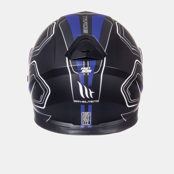 Trace Negro Mate Azul