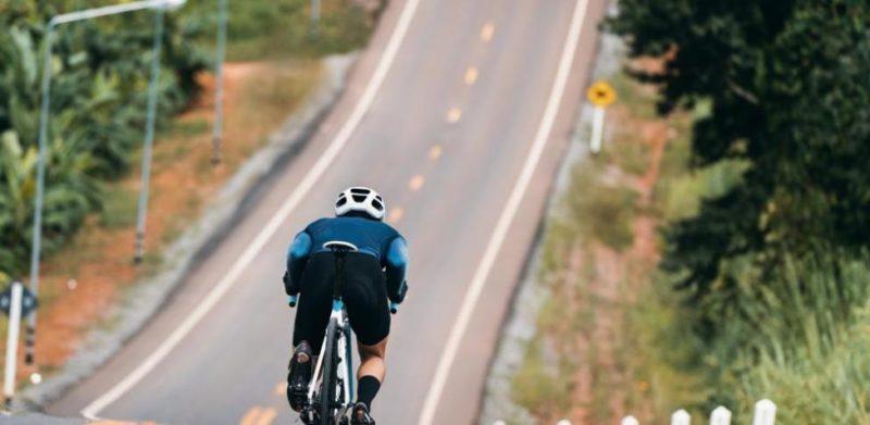 bici en carretera